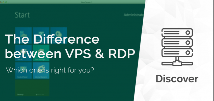 Major Difference Between RDP Server and VPS?